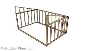 Livestock Loafing Shed Plans by Loafing Shed Plans Myoutdoorplans Free Woodworking Plans And