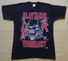 Smashing Pumpkins Tour Shirts by Vintage Early 90s Slayer Slaytanic Wehrmacht World Sacrifice Tour