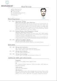Resume In English Sample Download