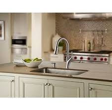 Moen Benton Faucet Canada by Moen Benton 1 Handle Kitchen Faucet With Matching Pulldown Wand