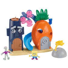 Spongebob Aquarium Decorating Kit by Fisher Price Spongebob Squarepants Pineapple Playset Fisher