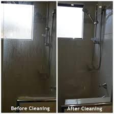how to easily clean your shower screens with soap scum build up