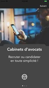 cabinet d avocat recrutement juris go cabinets d avocats on the app store