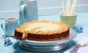 käse streusel kuchen mit backmischung