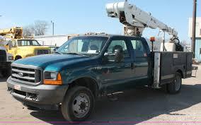 2001 Ford F550 XL Super Duty Utility Service Truck | Item E2...