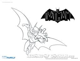 Beware The Batman Coloring Pages