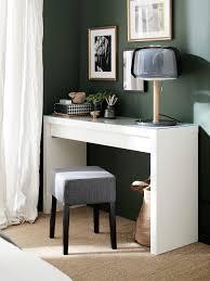 eine büroecke in deinem schlafzimmer ikea