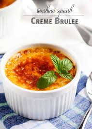 Epicurious Pumpkin Pie Brulee by Sunshine Squash Creme Brulee Just A Little Bit Of Bacon