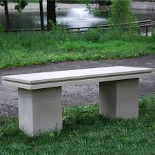 Concrete Garden Bench Cool Picture Home Decorations