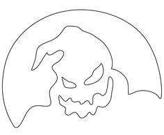 Oogie Boogie Halloween Stencil by Images Of Nightmare Before Christmas Pumpkin Carving Ideas