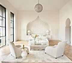 Modern Moroccan Bedroom White Bohemian
