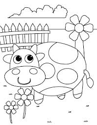 Spring Coloring Sheets Free Printable Pages Pictures