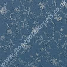 Brintons Carpets Uk by Brintons Carpets Classic Florals Parterre Blue Broadloom Stair