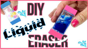 diy crafts diy liquid erasers orbeez lava glitter liquid