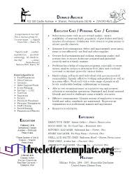 Resume Example Chef Resumes Examples Private Sample Lovely Objective