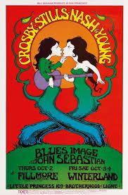 Lot 267 Greg Irons Crosby Stills Nash Young Blues Image John Sebastian 1969 Estimate 500 To 750 Carlos Santana Who Began His Musical