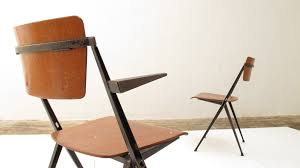 chaise rietveld piramide chaises wim rietveld industrial chairs by friso