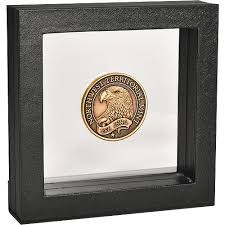 Display Frame For Coins Or Medals