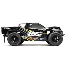 Losi Tenacity SCT RTR 1/10 4WD Short Course Truck (Black/Yellow) W ...