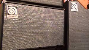Ampeg V4 Cabinet Ohms by Ampeg Svt212av U0026 Svt112av Bass Speaker Cabinets Overview Full