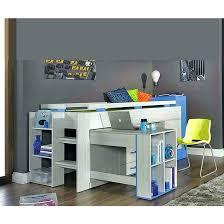 lit mezzanine noir avec bureau lit mezzanine enfant avec bureau lit superpose bureau lit combinac