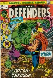 The Hulk V Thor Cover By John Romita Defenders