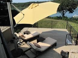 Sams Club Sunbrella Patio Umbrella by 20 Best Offset Cantilever And Patio Umbrellas Images On Pinterest