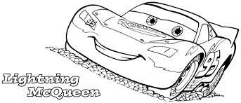 Download Coloring Pages Lightning Mcqueen Page