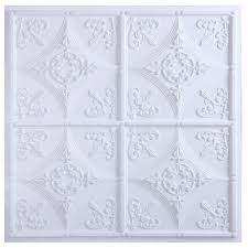 Ceilume Stratford Ceiling Tiles by Vinyl Ceiling Tiles Ceilings The Home Depot