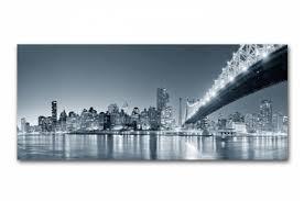 tableau panoramique new york by 90x30 cm tableaux villes