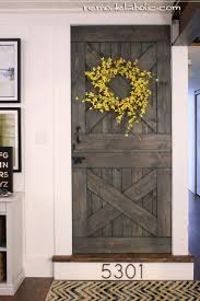 Interior Door Projects-DIY Your Way To Rustic Or Classic Charm ... Diy Bottom Dutch Door Barn Odworking Dutch Doors Exterior Asusparapc Barn Door Tags Design Gel Stain Garage Large With Hdware Available From Pros Baby Gate The Salted Home How To Make A Interior Hgtv 111 Best Images On Pinterest Children And New England Accsories Exterior For Opening Latest Stair Design Front Rustic Series Mahogany Solid Wood Horse Stall Grills Doors To Build