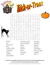 Halloween Things In Mn by Best 25 Halloween Word Search Ideas On Pinterest Halloween