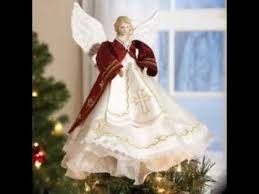 Angel Christmas Tree Topper Decorating Ideas