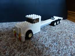 Lego Semi: 4 Steps Tiny Turbos Concept Semi Truck Digibrickz White Custom Lego Extended Sleeper Cab With Chrome Trim Ideas Product Ideas Heavy Duty And Road Grader Brickcreator A Red 29 American Super Long Nose Distance Flickr Lego Moc Big Rig Day Cab Single Axle Semi Truck Itructions Ldd Grain Trailers Bin 7 Steps With Pictures Trailer Set Rts House Of Coolness