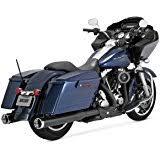 Vance And Hines Dresser Duals by Amazon Com Vance U0026 Hines Dresser Duals Exhaust Black Automotive