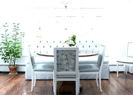 Upholstered Dining Room Bench With Back Benches