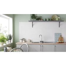 wickes white gloss ceramic wall tile 600 x 300mm wickes co uk