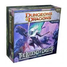 The Legend Of Drizzt DD Boardgame
