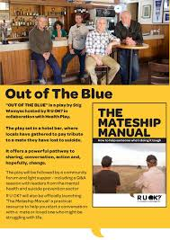 out of the blue an r u ok and health play community forum