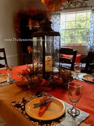 Dining Room Table Decorating Ideas For Fall by 3 Chandelier Ideas For Fall Halloween U0026 Thanksgiving The