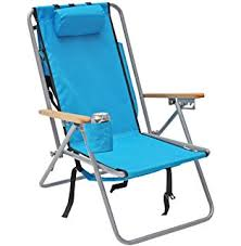 Panama Jack Beach Chair Backpack by Amazon Com Rio Ultimate Backpack Beach Chair W Cooler Pouch