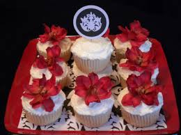 fancy auction cupcakes