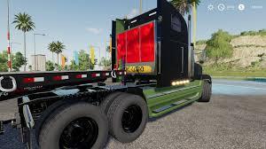 100 Kentucky Truck And Trailer DerbyFreightliner Classic V10 FS19 Farming Simulator 19