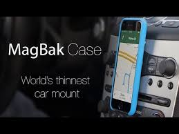 MagBak The Best iPhone Car Mount