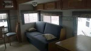 5th Wheel Camper Makeover Before