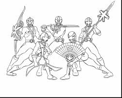 Incredible Power Rangers Coloring Pages With And Online