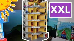 playmobil modernes wohnhaus aufbauen und einrichten familie sonnenschein
