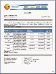 Fresher Mechanical Engineer Resume Format Leoncapers