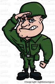Female Soldier Saluting Clipart 2126413
