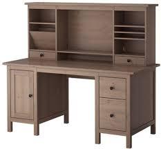 Ikea Hemnes Desk Uk by Hemnes Desk With Add On Unit Grey Brown Ikea Shopcade Style